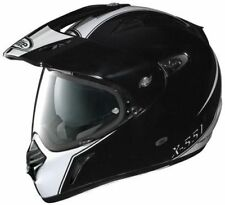 NEW NOLAN X-LITE X-551 HYPER N-COM METAL WHITE / BLACK SIZE SMALL RRP £379