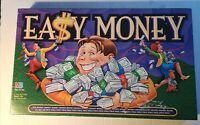 Easy Money Board Game- Complete 1996 Milton Bradley The Money Money Game