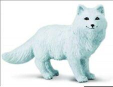 "Fox Figurine Artic White Woodland Animal Safari Ltd Toy New Forest Collectible """