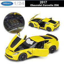 1/24 2017 Chevrolet Corvette Z06 Cars Model Alloy Diecast Toy WELLY Unopened Box