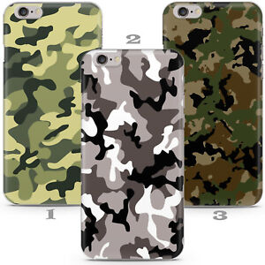 Camoflage Pattern Army Gift Phone Case Cover For iPhone 4 5 6 7 8 11 12 13 Xr Xs