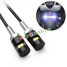 2 x 12V voiture auto moto led plaque d'immatriculation  lumière ampoule de lampe
