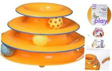 New listing Petstages Cat Tracks Cat Toy - Fun Levels of Interactive Play - Circle Track wit