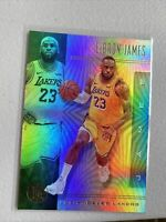 LeBron James 2019-20 Illusions Base Card