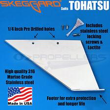 TOHATSU OUTBOARD SKEG GUARD, TOHATSU SKEG PROTECTOR Skeggard * Quality USA Made*
