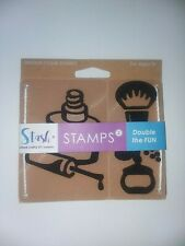 Stash Unique FOAM STAMPS for Crafts ~ Nail POLISH - Makeup Brush - Perfume ~ NEW