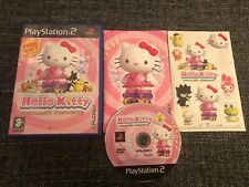 Hello Kitty Roller Rescue Sony PlayStation 2 PS2 2005 Pal Version With Stickers