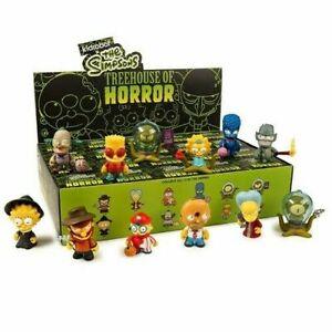 Kidrobot Simpsons Tree House Of Horrors Vinyl Mini-Figure Case - 20 Blind Boxes