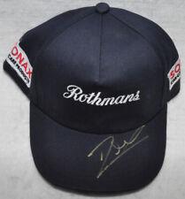 Jacques Villeneuve Signed Replica 1997 F1 Williams Cap