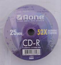100 x Aone Logo No Imprimible CDR 52x 80min 700mb