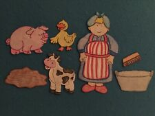 Mrs. Wishy Washy Bathtime Felt Flannel Board Story Pellon Preschool Teachers