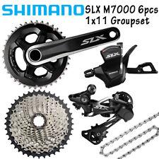 Shimano SLX M7000 1x11 Spd Groupset 6pcs 11-40T/42T/46T Crank 170/175 MTB