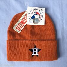 HOUSTON ASTROS MLB EMBROIDERED KNIT BEANIE HAT WITH CUFF OSFA FREE SHIPPING