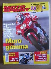 MOTOSPRINT n°10  2004 [Q77] TEST SUZUKI GSX-R 750