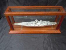 Maquette Cuirasse Richelieu échelle 1/800 d'après plans des amis de la marine
