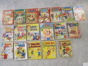 Pals n Gals #1...Jughead and Archie~Laugh~Richie Rich Lot of 18 Books (B18)