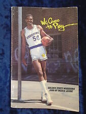 GOLDEN STATE WARRIORS 1988-89 MEDIA GUIDE by C WHITE & E CHAPMAN - P/B