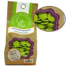 Cake Melts Grün, 250g, auch für die Mikrowelle, Vanillegeschmack, Glasur