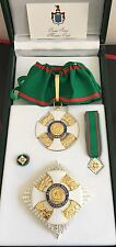 Set Grande Ufficiale Ordine al Merito della Repubblica Italiana in argento 925