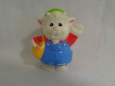2009 Fisher Price Little People Animalville Goat Postal Carrier / Mailman Figure