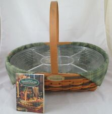 Vintage Longaberger 1998 Edition Hospiality Basket Traditions Collection Combo