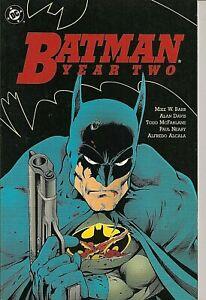 °BATMAN: YEAR TWO TPB° US DC 1990 English 1st Edition Todd McFarlane