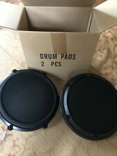 Two 8 Inch Alesis Dm6 Electronic Drum Snare Pad Dual Zone Trigger
