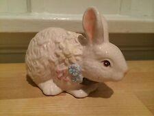 Vintage Porcelain Classic Easter Bunny Rabbit Figurine Statue Springtime Spring