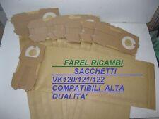 SACCHETTI FOLLETTO VK120/121/122 8 SACCHETTI COMPATIBILI