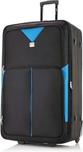 """32"""" Extra Large Super Lightweight Durable Hold Travel Luggage Trolley Suitcase"""