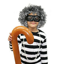Gangster Kids Granny / Grandma Fancy Dress Costume Set (WORLD BOOK DAY)