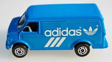Vintage  Diecast Corgi Juniors U.S. Van ADIDAS BLUE w/LOGO Great Britain