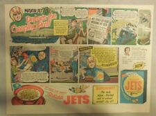 Sugar Jets Cereal Ad: Major Jet Defeats The Creeping Peril from 1950's