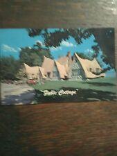 BEAUTIFUL FABLE COTTAGE CORDONA BAY VICTORIA B.C. VINTAGE POST CARD