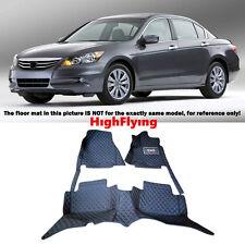 Car floor mats For Honda Accord Euro 2008-2012 Right hand drive Auto accessories