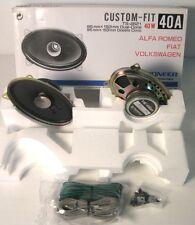 pioneer ts-4621 , 40w, speakers , car audio, fiat, alfa romeo volkswagen