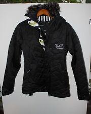 Ride Snowboarding Insulated Snowboard Jacket Womens Black Size Medium