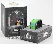 2015 Disney Galactic Gathering Green Lightsaber LE 330 Magic Band Link It Later