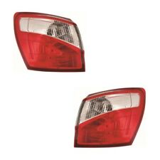 For Nissan Qashqai SUV 4/2010-6/2014 Led Outer Wing Rear Tail Lights Lamps Pair