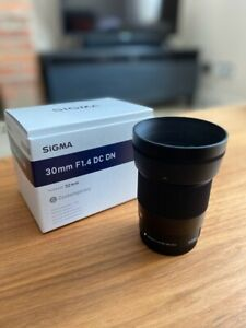 Sigma Camera Lens 30mm f/1.4 DC DN C EF-M - for Canon Mirrorless