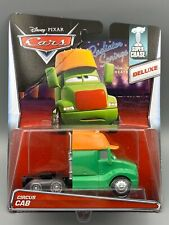 """DISNEY PIXAR CARS """"CIRCUS CAB"""" IMPERFECT CARD ,SUPER CHASE,LIMITED TO 4000 UNITS"""