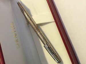 SHEAFFER GRAPES AND LEAVES PEN STERLING SILVER