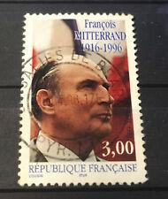 Timbre du Président Mitterrand François (1916-1996)-(1997) 3 F multicolore