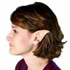 2x Halloween Theatrical Latex Prosthetic Elf Fairy Vulcan Spock Costume Tip Ears