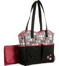 NEW - Graco Dotastic 7 Pocket Diaper Bag Tote