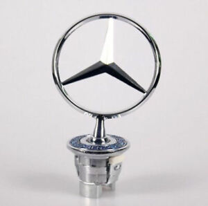 For MERCEDES-Benz Front Hood Emblem Ornament Chrome Star Badge 1994-2006 E CLAss