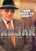KOJAK - STAGIONE 01 #02  4 DVD  COFANETTO  SERIE-TV
