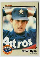 1983 Fleer NOLAN RYAN (ex-mt) Houston Astros