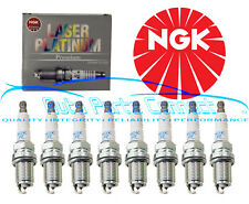 8 NGK LASER PLATINUM SPARK PLUGS FOR JAGUAR S-TYPE VANDER PLAS XJ8 XK8 QUALITY