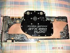 BFG   GeForce GTX 280 factory overclocked video card with full cover waterblock